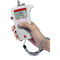 portable conductivity meter / with LCD display / with automatic temperature compensation