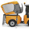 ride-on sweeper / combustion engine / outdoor