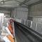 belt conveyor / for bulk materials / tubular / curved