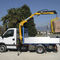 truck-mounted crane / boom / for construction / hydraulic