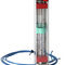 variable-area flow meter / for liquids / for gas / compact