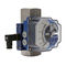 mechanical flow switch / for liquids / for gas / in-line