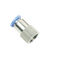 Threaded fitting / straight / pneumatic PCF series Pneuflex Pneumatic Co., Ltd