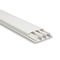 cabling trunking / plastic / rigid / fire-resistant