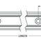Precision rail / slide / steel / lightweight RR series PBC Linear