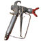 spray gun / for paint / pressure feed suction / airless