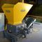 four-shaft shredder / for wood / rugged / compact