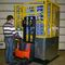 mobile automatic pallet stacker