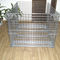 steel pallet box / wire mesh / handling / folding