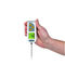thermocouple thermometer / digital / hand-held / stainless steel