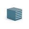 storage cabinet / floor-mounted / 5-drawer / 3-drawer