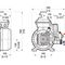 hot water pump / electric / plunger / industrial