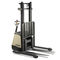 Electric stacker truck / walk-behind / for pallets / narrow-aisle SX series CROWN