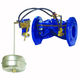 float valve / hydraulically-operated / level control / for water