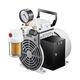 rocking piston vacuum pump / oil-free / single-stage