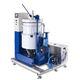 centrifugal disc vibratory finishing machine / deburring / semi-automatic