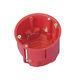 flush-mount junction box / halogen-free / IP30