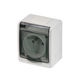 wall-mounted electrical socket / IP44