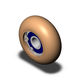 bearing wheel type roller / plastic