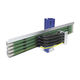 multipolar conductor rail / open / for materials handling