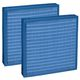 air filter / cartridge / pleated / integrated