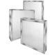 air filter / mini-pleat / metal / galvanized steel