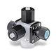 drain valve / metering / PTFE / relief