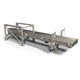 air-operated conveyor / for the food industry / food / feeder