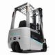 electric forklift / ride-on / for warehouses / counterbalanced