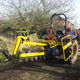 chain trencher / tractor-mounted
