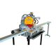 building material slitting machine / manual / portable / bench-top