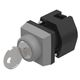 key lock switch / multipole / actuator / IP65