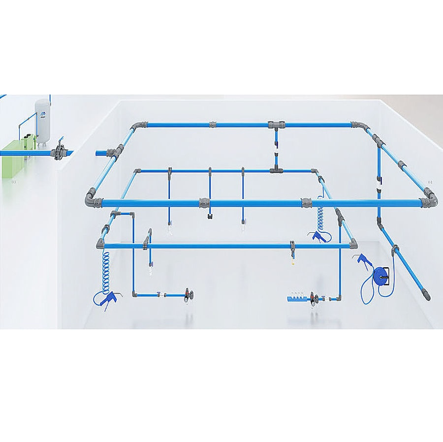 Aluminum Piping System/Pneumatics/Air compressor accessories