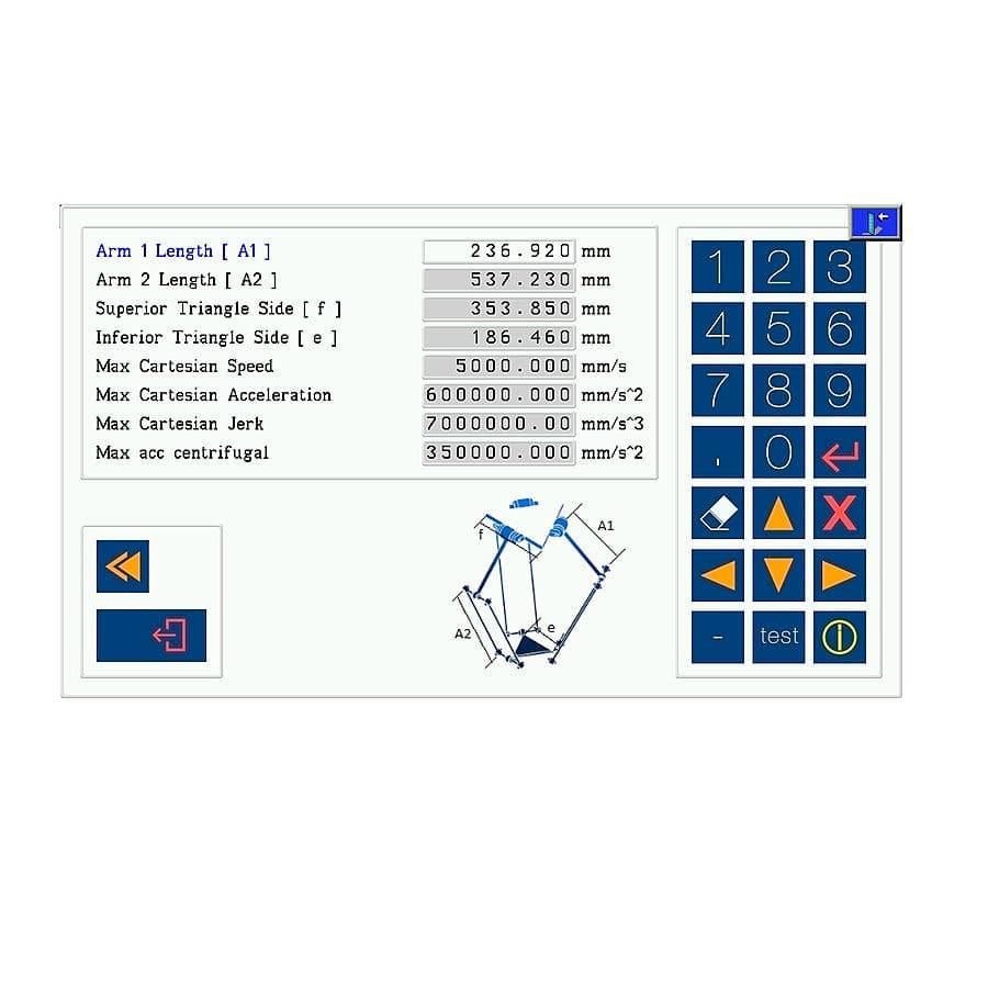 Application program for handling robots - TEX COMPUTER