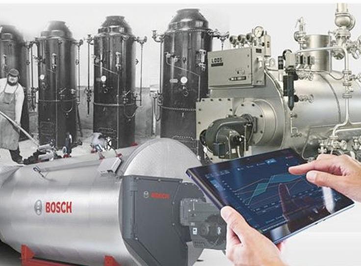 Bosch Industriekessel is celebrating its 150th company anniversary ...
