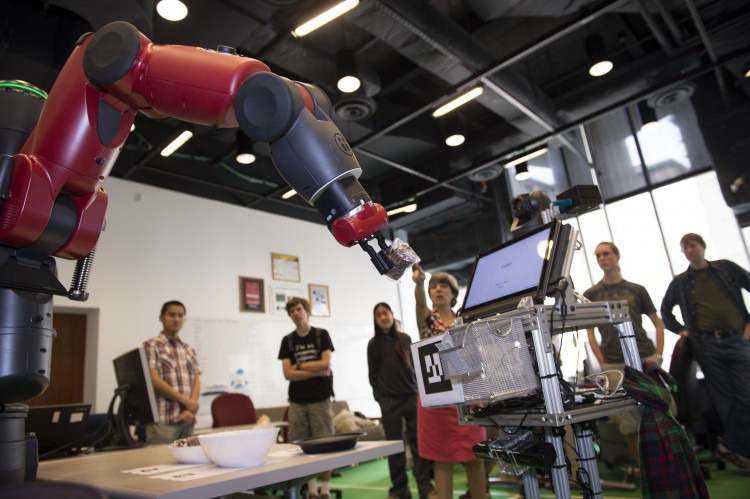 Deep Learning Robot 10 Days To Learn How To Grasp 5000 Forbes Ave