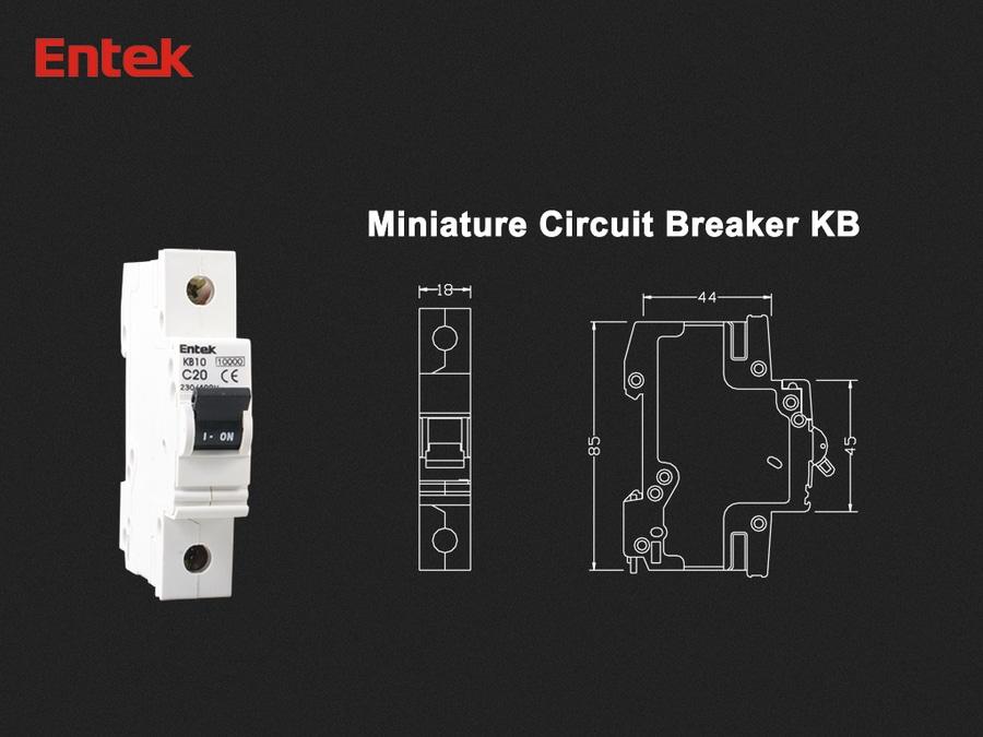 New Cb Certified Miniature Circuit Breaker Mcb By Entek Electric Co