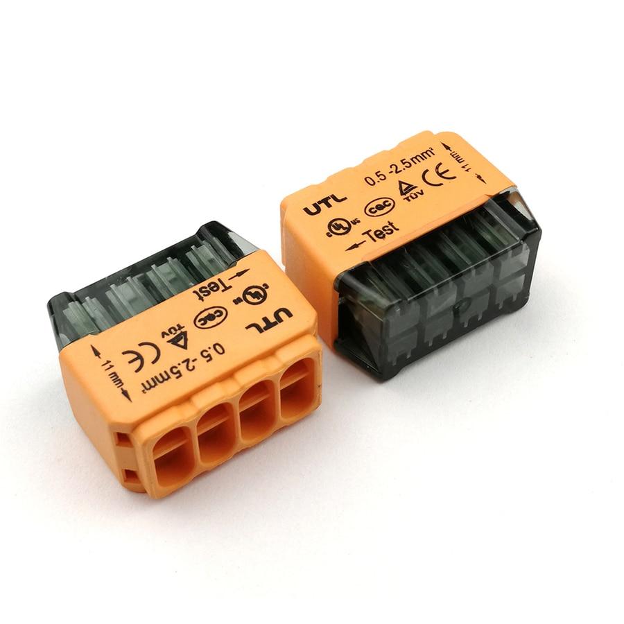 Multi-wire Quick Push-in Connect Terminal block