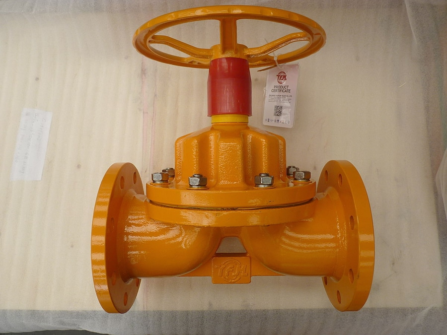 Ptfe lined diaphragm valve weir type for chemical zhejiang youfumi ptfe lined diaphragm valve weir type for chemical ccuart Image collections