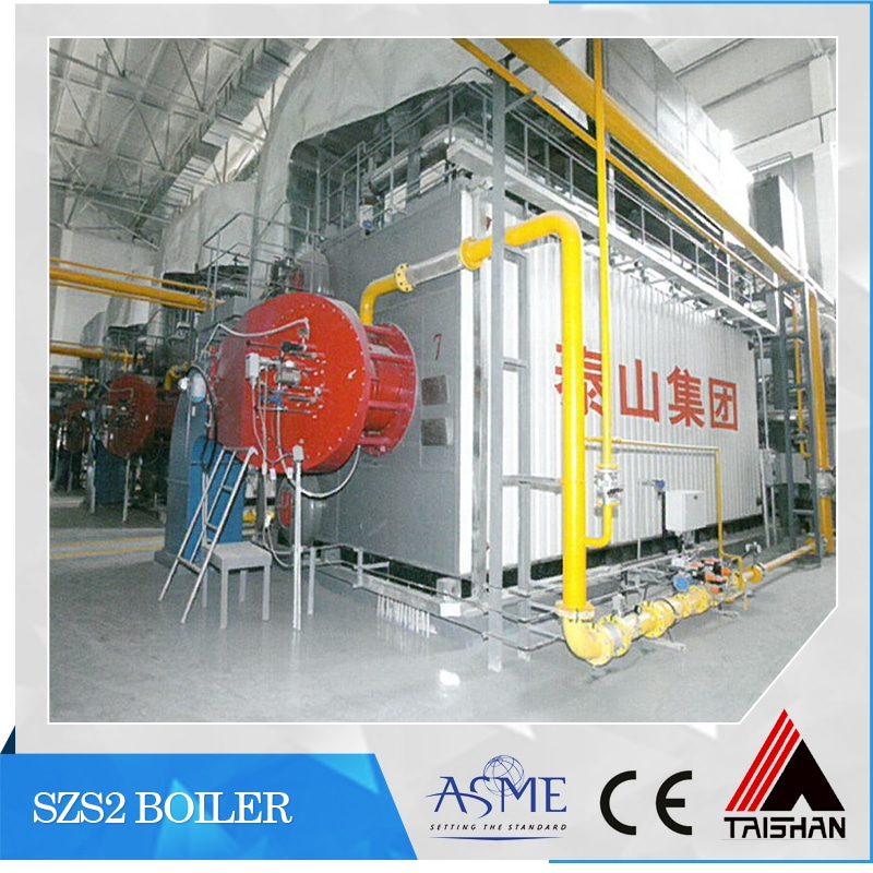 Taishan oil and gas fired steam boiler for food industry - Tai\'an ...