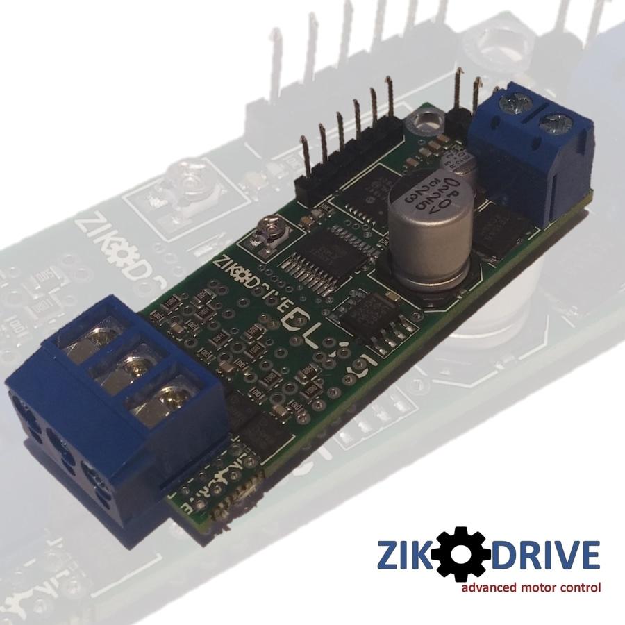 Zikodrive BL15 (ZDBL15) brushless motor controller can be optimised
