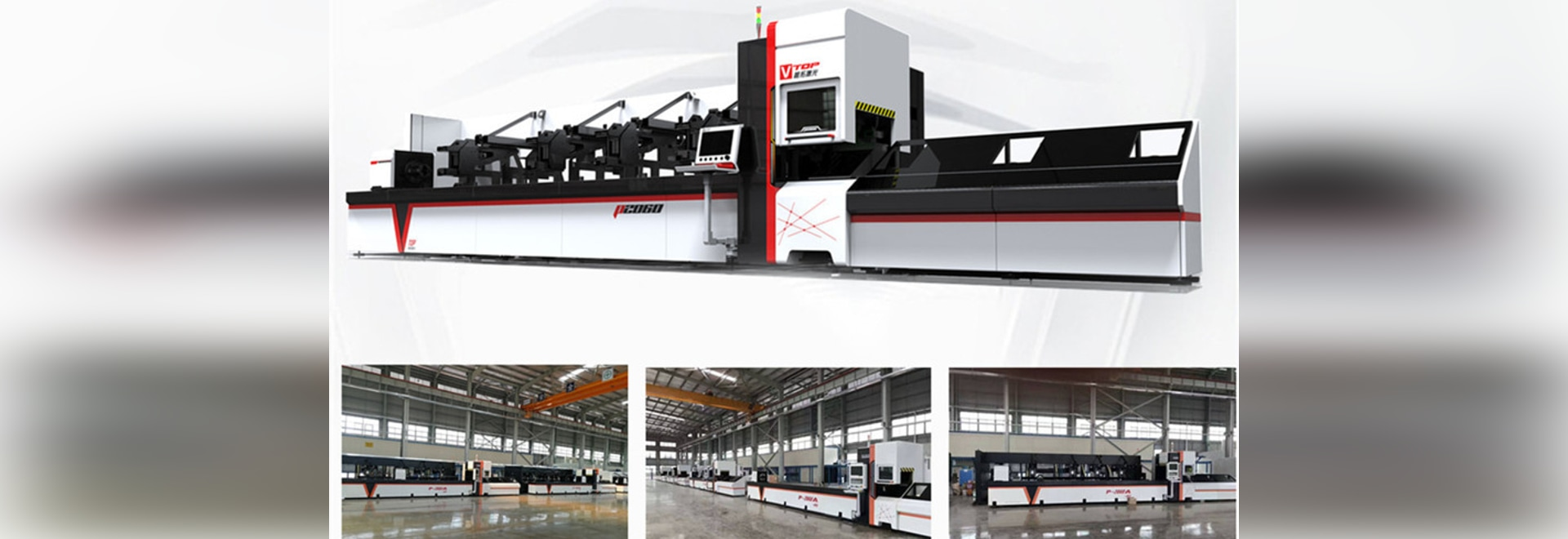 700w 1000w 2000w 3000w Cnc Fiber Laser Pipe Cutting Machine For Round Tube / Square Tube / Rectangular Tube