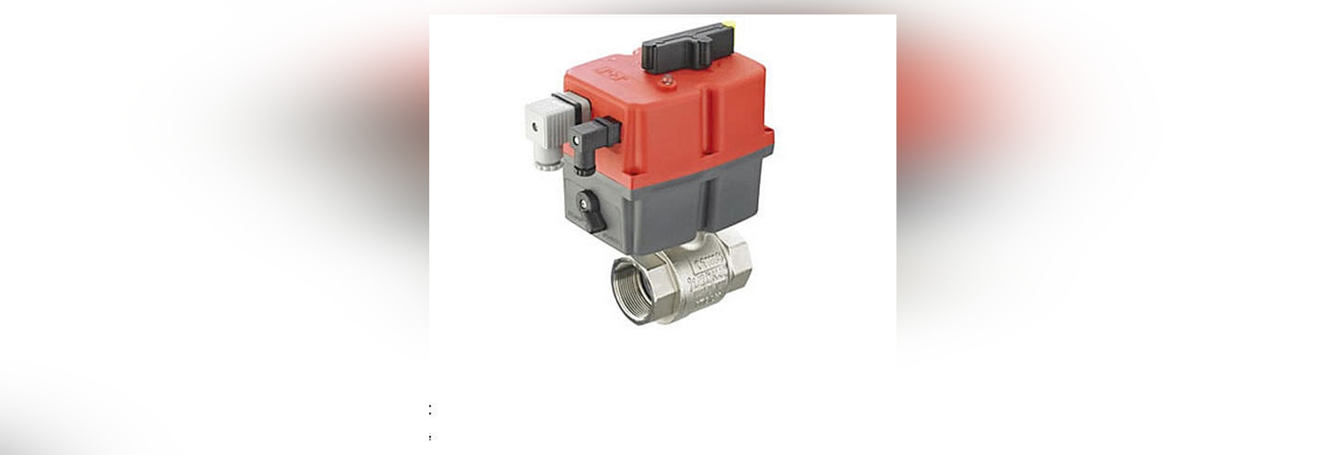 Actuated WRAS Ball Valve Max +70C Brass 2 Way Type J3-1100