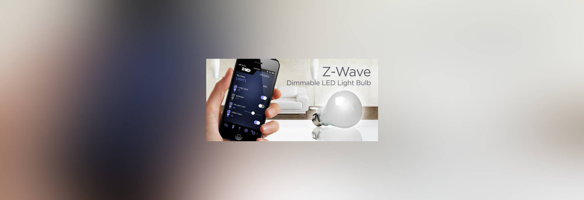 After it is screwed into any normal light bulb socket Z-LB60Z-1 & Dimmable LED Light Bulb simplifies Z-wave lighting control ... azcodes.com