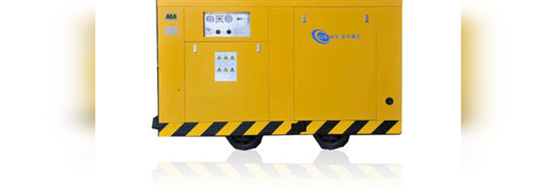 Air Compressor Screw Oil Injected Mobile Guangdong Ganey Overvoltage Protected Control