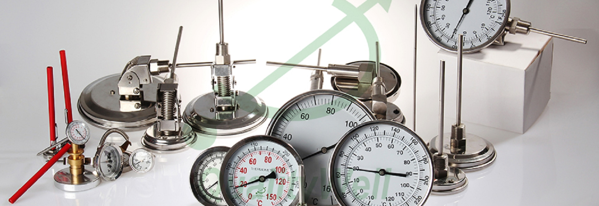 all kinds of bimetallic thermometers