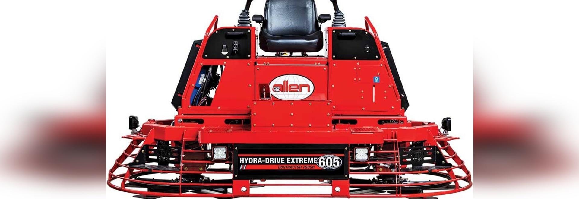 Allen Engineering HDX605 Ride-on Trowel