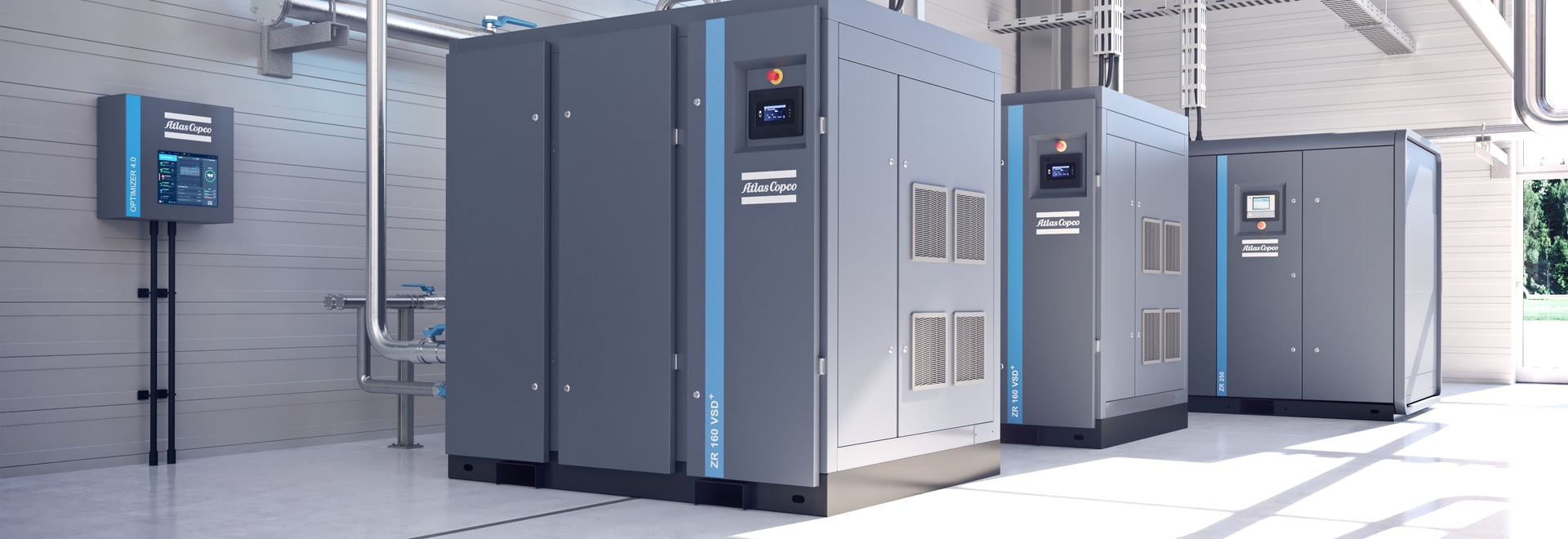 Atlas Copco launches air compressor with 35% less energy consumption