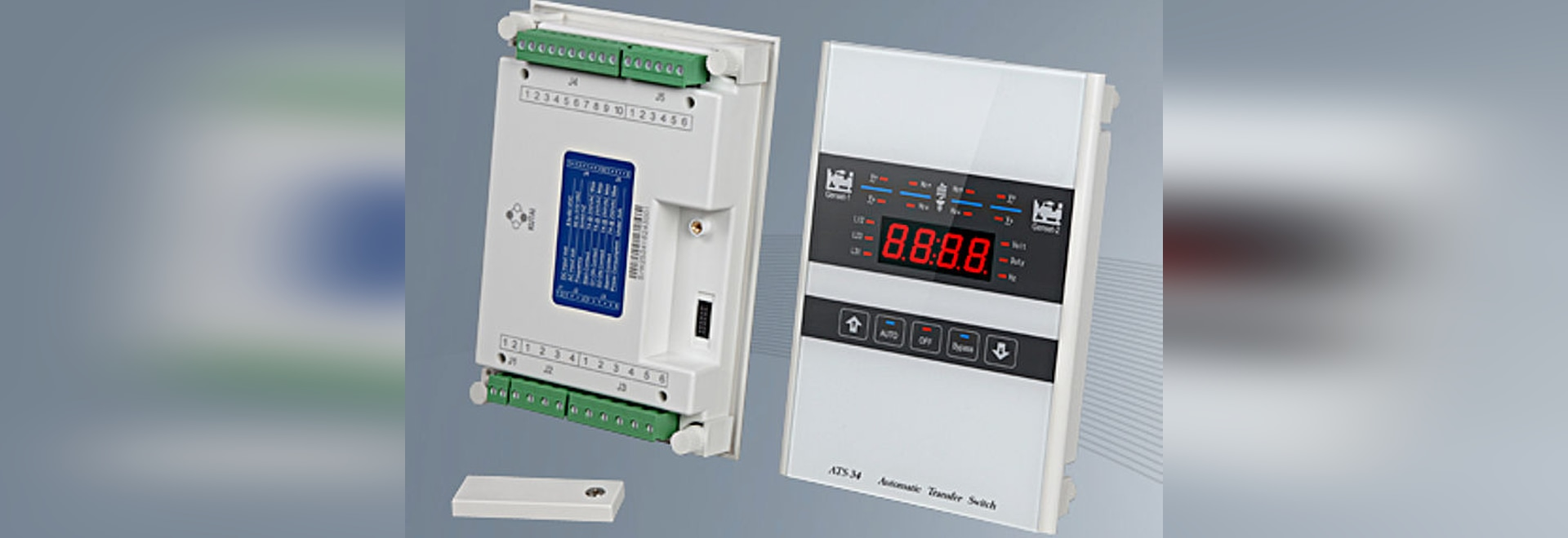 Ats 34 Transfer Switch Controller For Power Systems With Dual Generator View Automatic Redundant