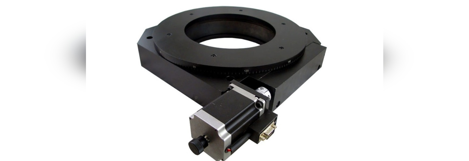 AY110-300 Motorized Rotary Stage.